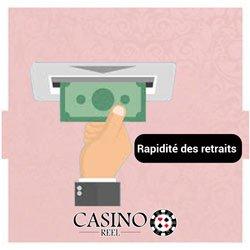 Rapidité des retraits casinos